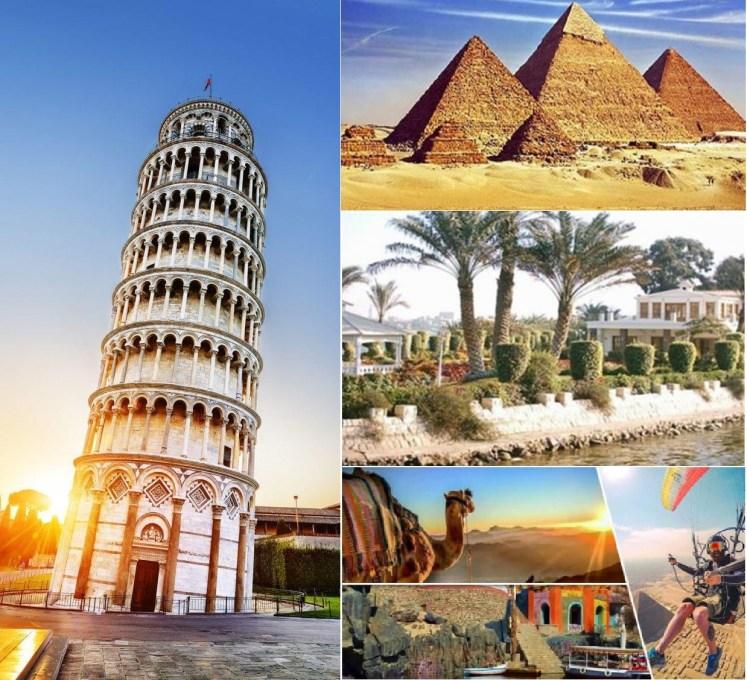 برجراف عن السياحة