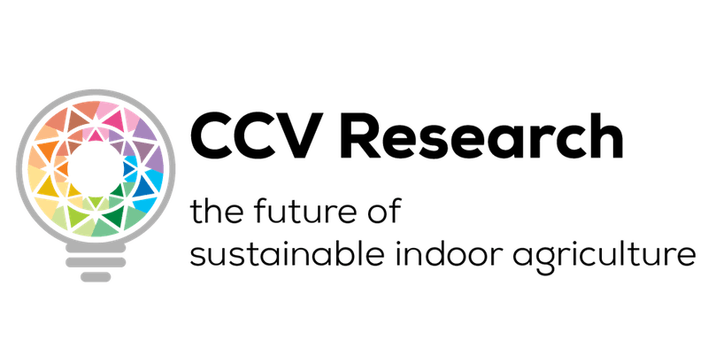 CCV Research - the future of sustainable indoor agriculture