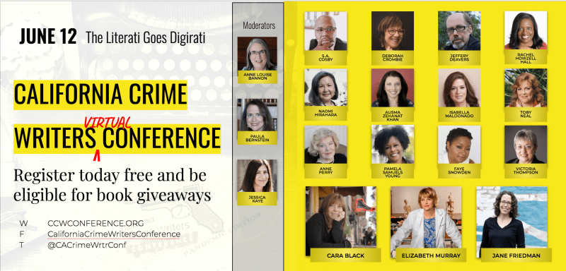 California Crime Writers Conference authors