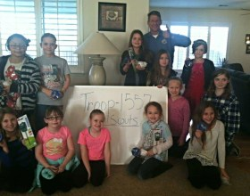 Girl Scout Troop 1557 Learns About Conservation