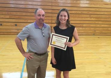 CCWD Awards $500 Scholarship to Calaveras High School Senior