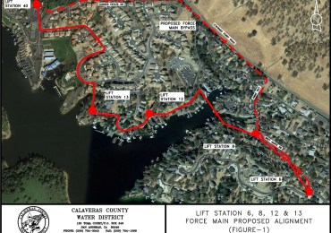 CCWD Awards Design Contract for Lake Tulloch-Area Sewer System Upgrades