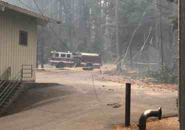 Hunter Dam Fire Threatens CCWD Water Plant in Avery