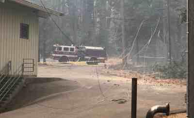 Hunter Dam Fire
