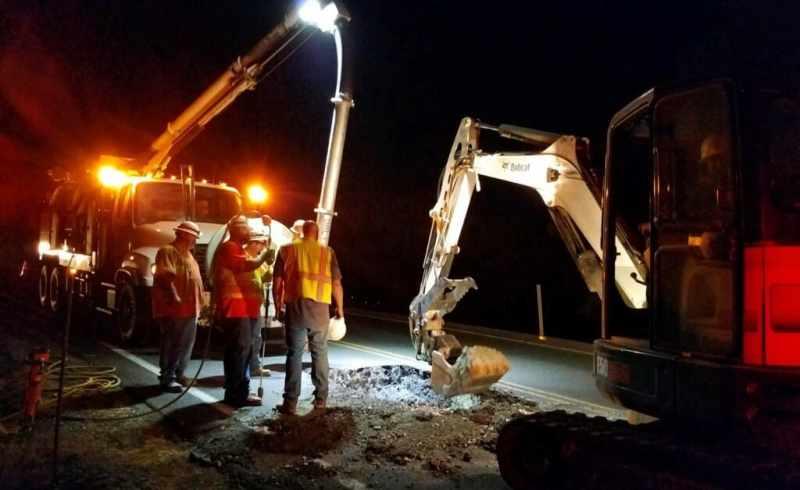 Copper Cove Drive Leak Repair