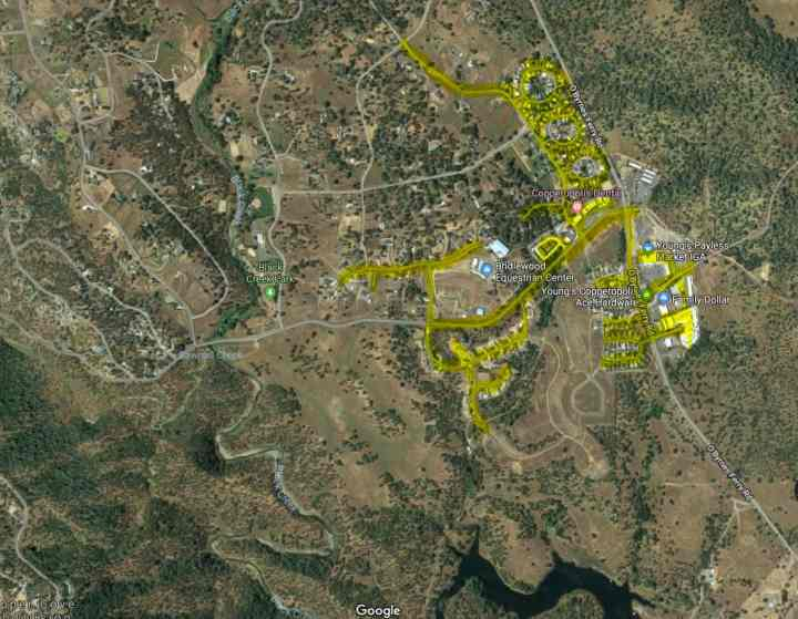 Copperopolis Water Outage Map