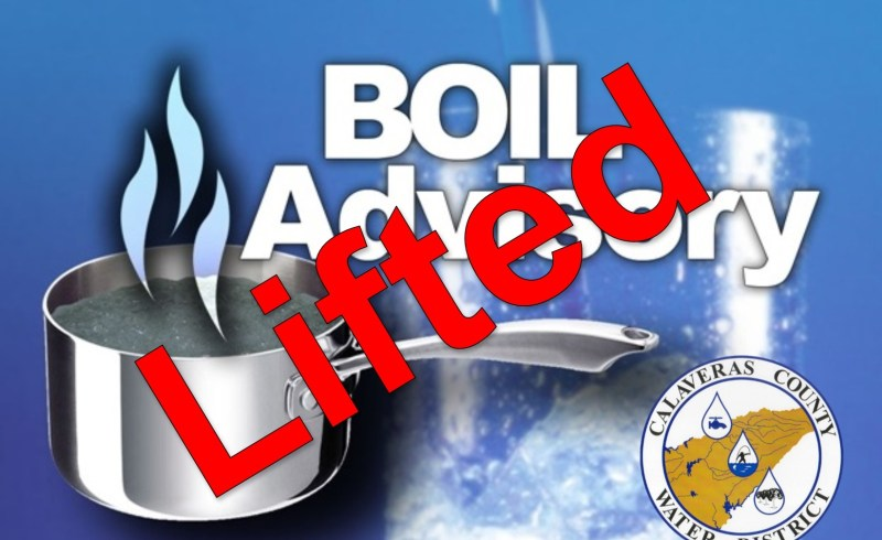Boil Water Notice Lifted