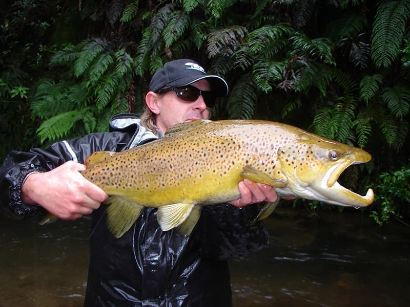 Miles Rushmer fishing guide in New Zealand uses CD Rods