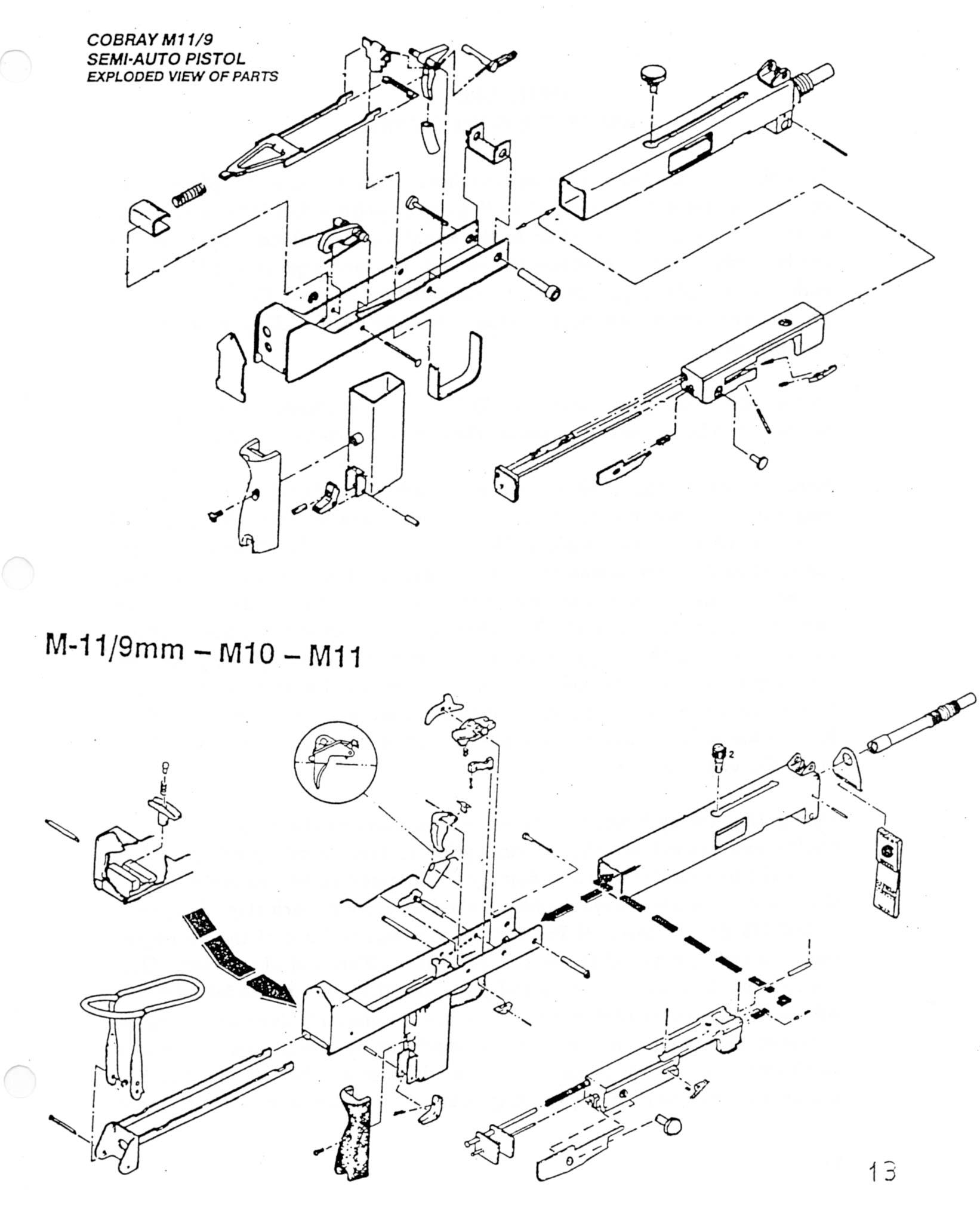 Cobray m11 diagram info wiring m111 cobray m11 diagramhtml