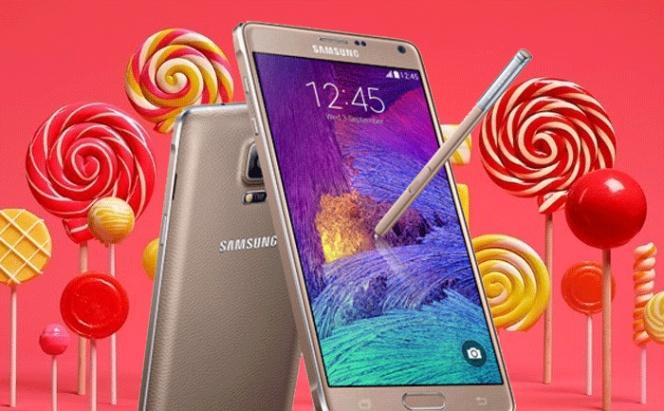 Android 5.0.1 Lollipop llega a todos los Samsung Galaxy Note 4 en España