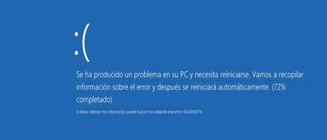 La 'pantalla azul de la muerte', de Windows 10, incluye un código QR para que te ayude tu móvil