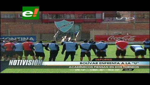 """Bolívar va """"escalón por escalón"""""""