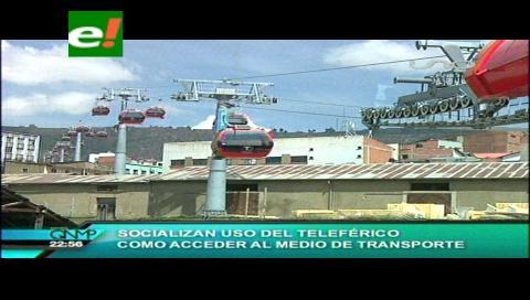 """""""Mi Teleférico"""" arranca operaciones para capacitar a la ciudadanía"""