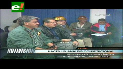 Gobierno y Fencomin iniciaron reunión para redactar el artículo 151 de la Ley Minera