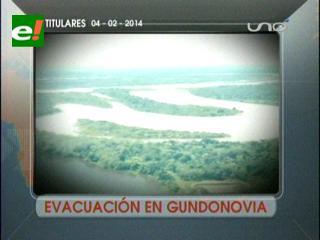 Titulares: Evacuación en Gundonovia, más de 37 mil familias afectadas por las lluvias