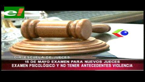 Escuela de Jueces habilita a 900 abogados para examen de admisión a curso de formación judicial