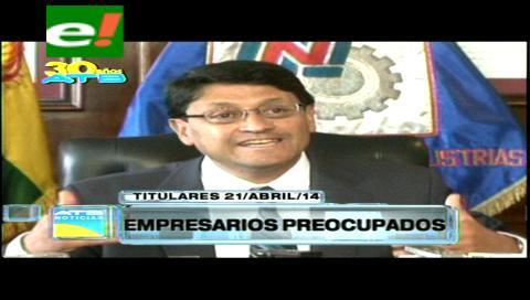 Titulares: Empresarios desconcertados por el incremento salarial
