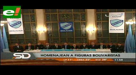 Bolívar celebró sus 89 años y distinguió a personalidades