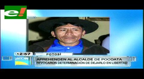 Aprehenden al alcalde de Pocoata