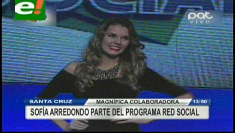 Magnífica Sofía Arredondo incursiona en la TV