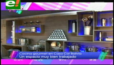 La cocina gourmet de Casa Cor Bolivia