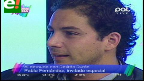 Pablo Fernández al desnudo
