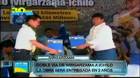 Amplían vía Ivirgarzama – Ichilo
