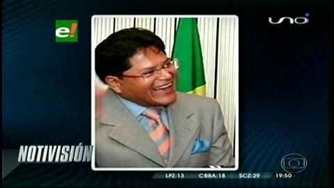 Brasil: Asesinan a ex senador boliviano por supuesta extorsión a un brasileño