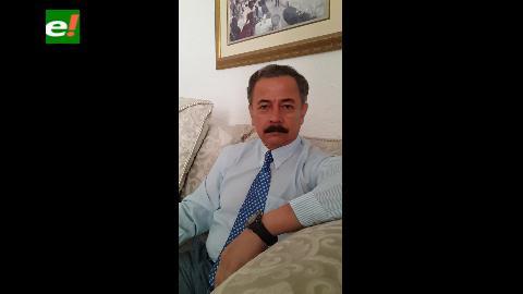 """Vicealmirante Schabib dice que """"no hay democracia con presos políticos y exiliados"""""""