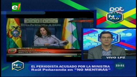 Raúl Peñaranda denuncia que el Gobierno alienta la xenofobia por nacionalidad