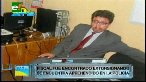 Aprehenden al fiscal Héctor Molina en Potosí por extorsión