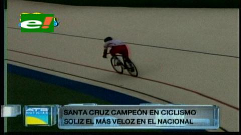 Santa Cruz se queda con el título nacional de ciclismo