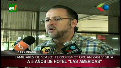 Familiares del caso terrorismo convocan a una vigilia a 5 años de los hechos del Hotel Las Americas