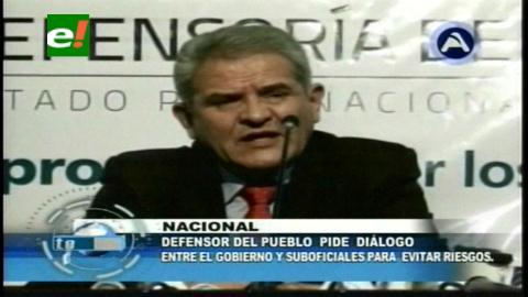 Defensor del Pueblo insta al diálogo entre el Gobierno y los suboficiales