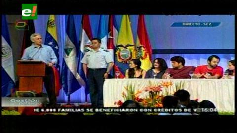 Cumbre Juvenil: García Linera destaca ascenso económico y político de Latinoamérica ante el capitalismo