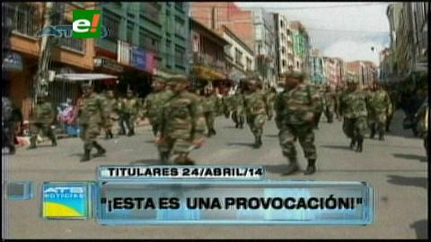Titulares: Militares califican de provocación del Gobierno la suspensión de 702 sargentos y suboficiales