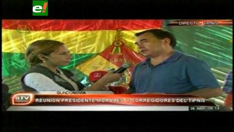 Evo Morales se reunirá con los corregidores del Tipnis