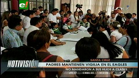 Santa Cruz: Padres de familia del Eagles' School no envían a sus hijos a pasar clases