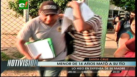 Santa Cruz: Adolescente mata a su tío por defender a su madre