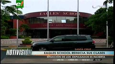 Santa Cruz: Estudiantes del Eagles' School retornaron a clases