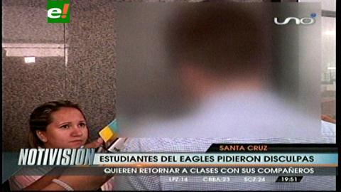 Alumnos que fueron expulsados del Eagles podrán volver a clases