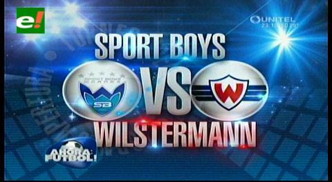 Sport Boys se aplaza en casa, jugando frente a Wilstermann