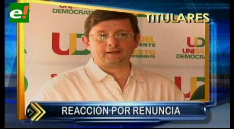 Titulares: Oposición valora renuncia de candidato Navarro