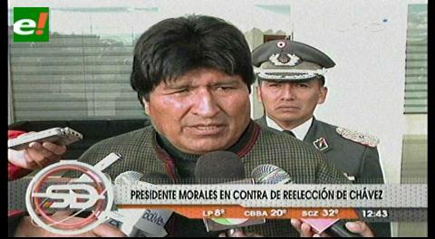 La reelección de Chávez 'deja mucho que desear'