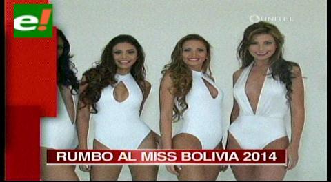 Hoy arranca el Miss Bolivia 2014