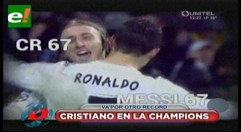 Cristiano Ronaldo comienza la caza del récord de Raúl en la Champions League