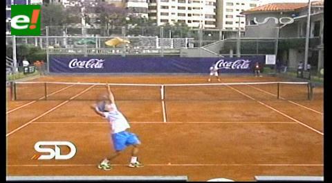 Tenis: Bánzer saca la cara por Bolivia