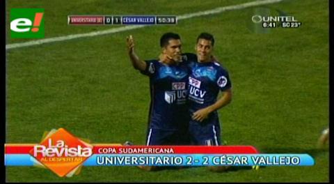 Universitario se aplaza de local y cede un empate ante César Vallejos