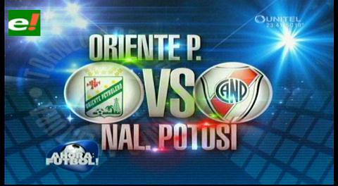 Oriente Petrolero logra cómoda victoria ante Nacional Potosí