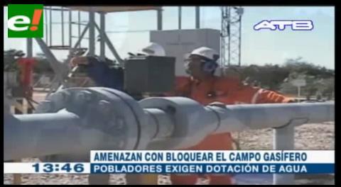 Pobladores de Palos Blancos amenazan con bloquear campo Margarita